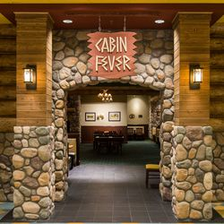 The Cabin Fever room