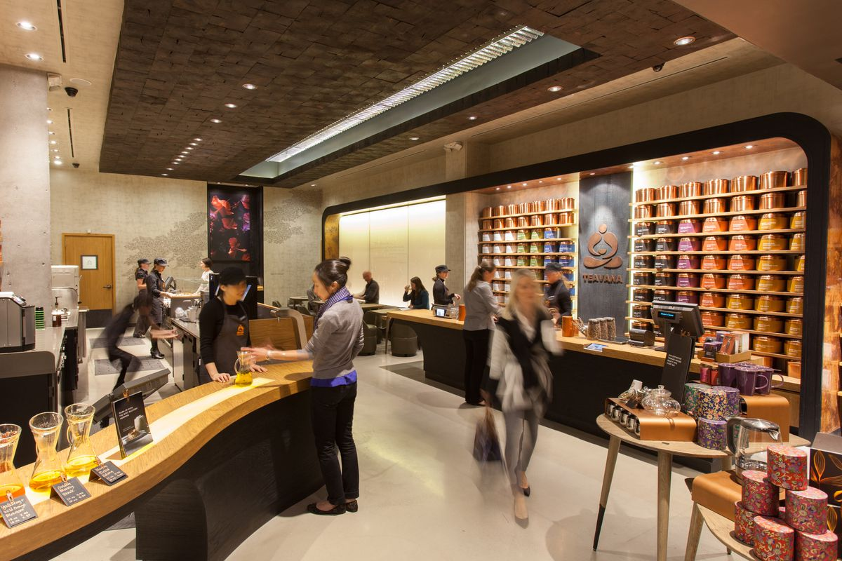 Starbucks' first Teavana Tea Bar on NYC's Upper East Side