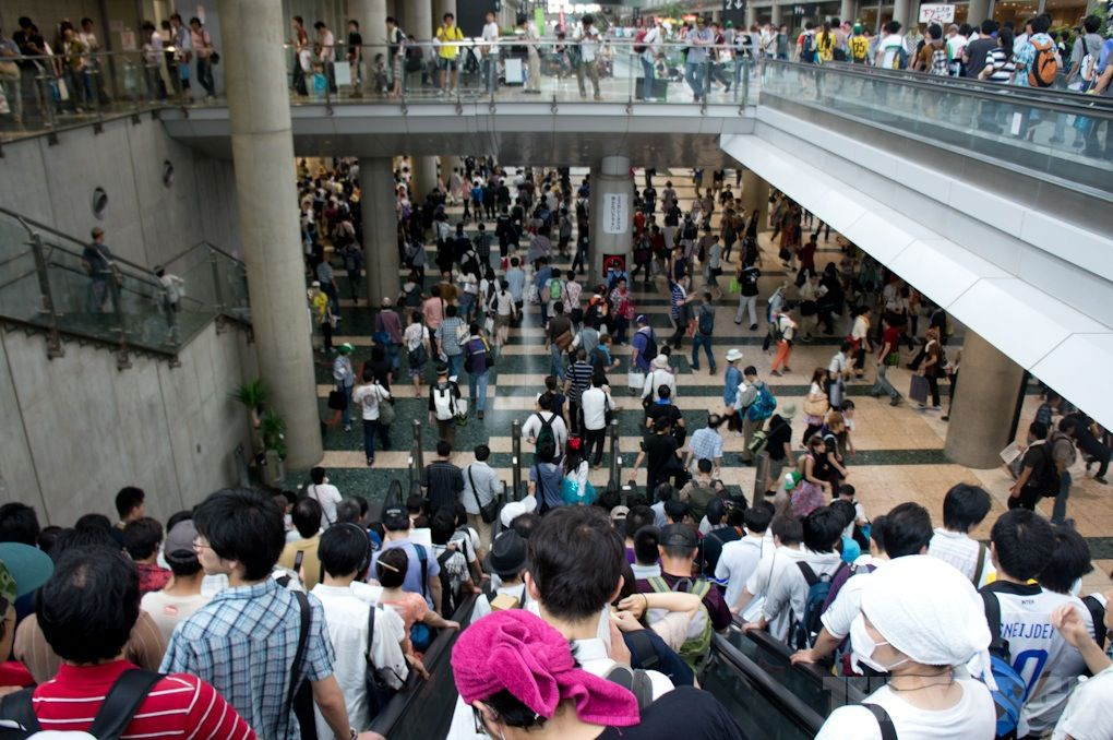 Inside Comiket