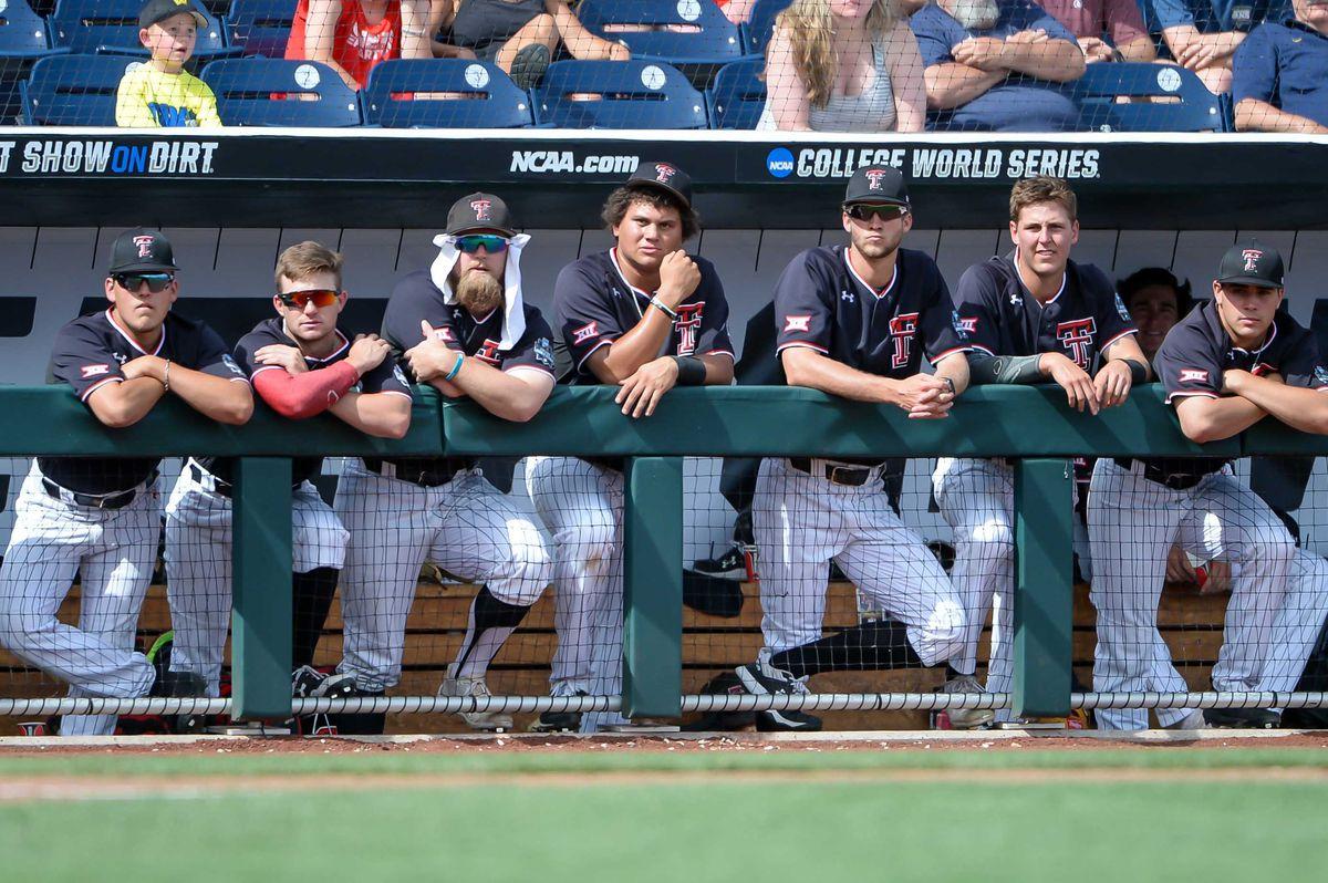 NCAA Baseball: College World Series-Michigan vs Texas Tech