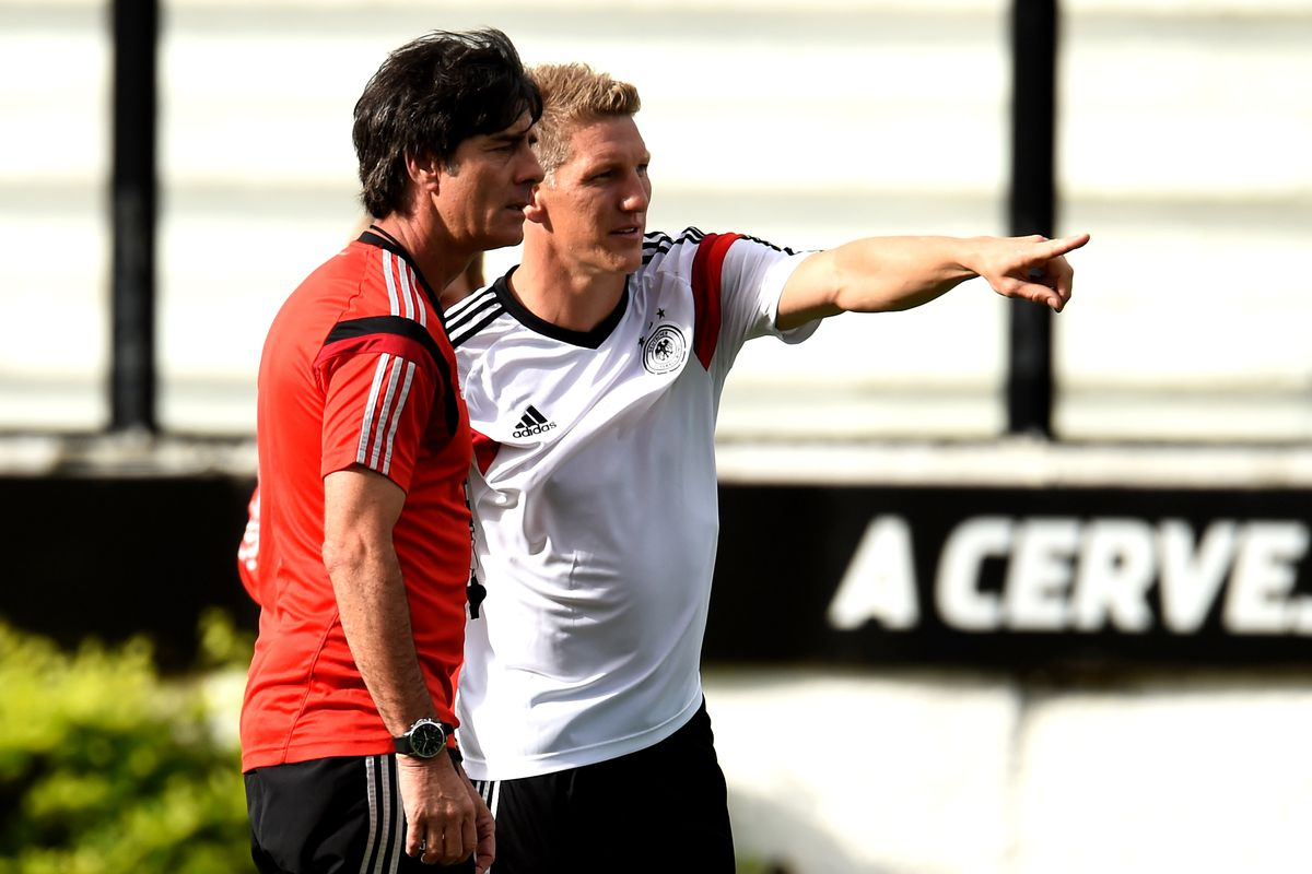 Germany Training and Press Conference: 2014 FIFA World Cup Brazil Final