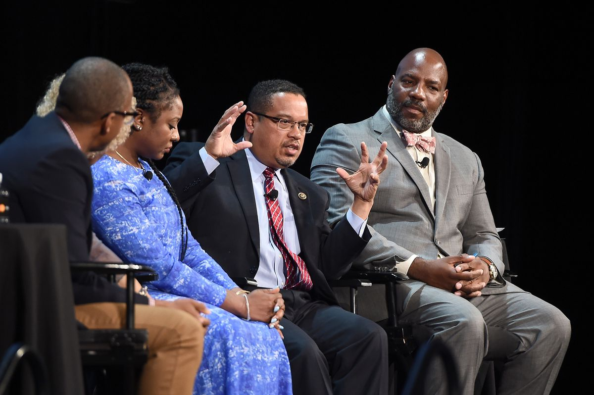 The New Yorker Festival 2016 - 'A More Perfect Union: Obama And The Racial Divide,' Featuring Congressman Keith Ellison, Alicia Garza, Margo Jefferson, And Khalil Gibran Muhammad In Conversation With Jelani Cobb