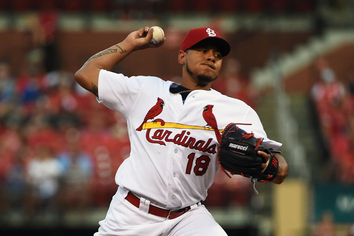 Despite 9 strikeouts, Carlos Martinez allowed four runs in 6 innings of work on Wednesday afternoon.