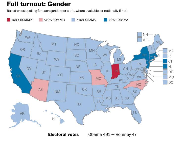 post gender map full turnout
