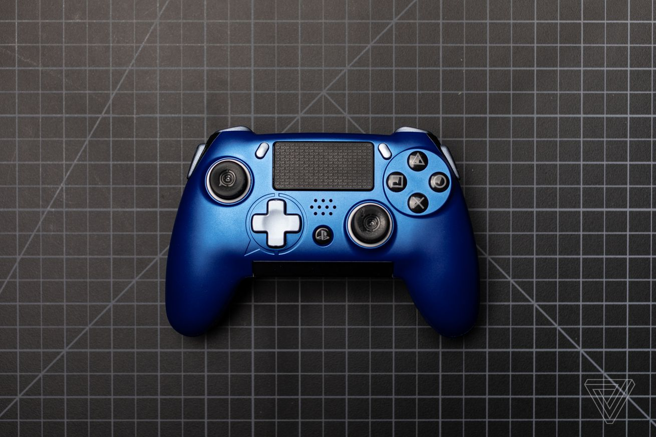 the scuf vantage reimagines the ps4 controller but with some big flaws