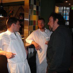 Jeff Michaud, Brad Spence, and Phil Roy.
