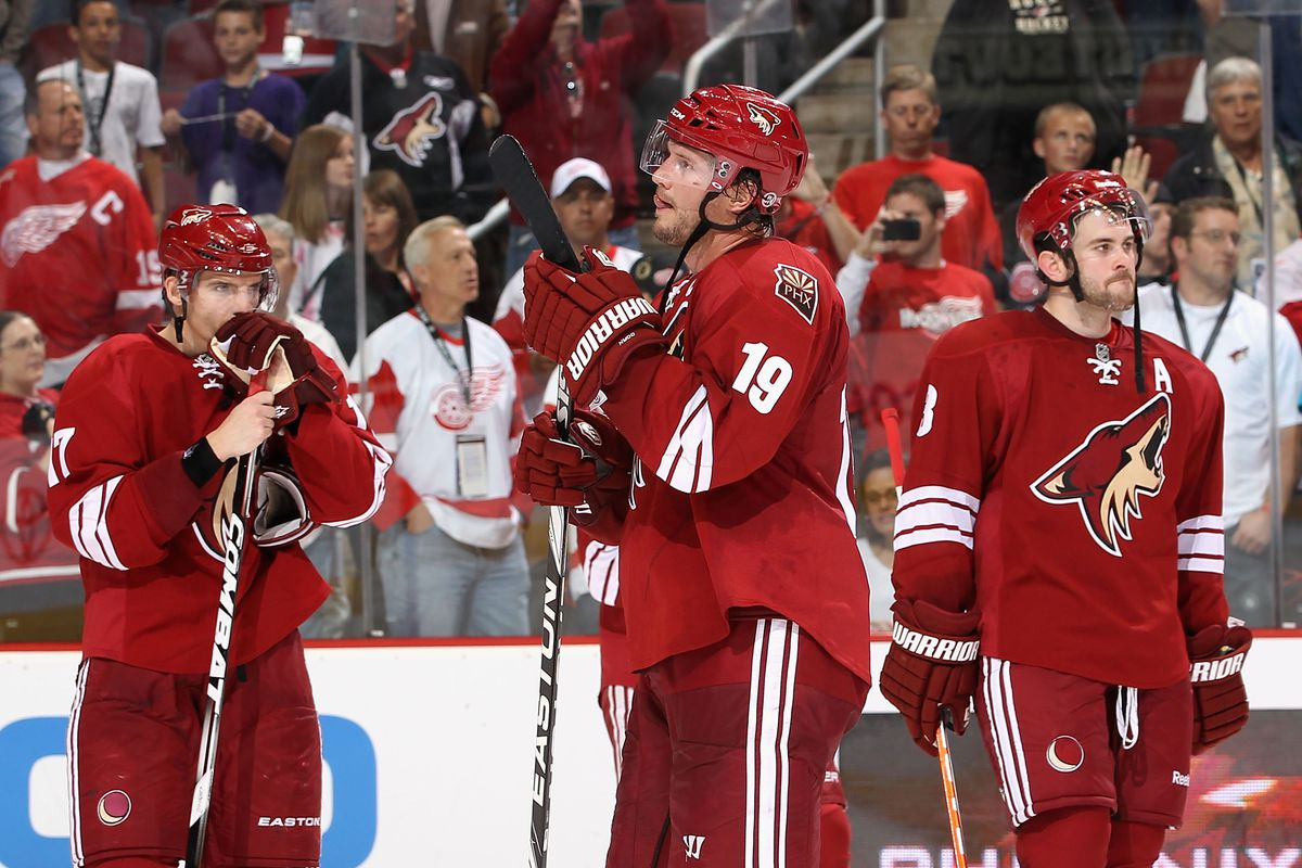 Detroit Red Wings v Phoenix Coyotes - Game Four