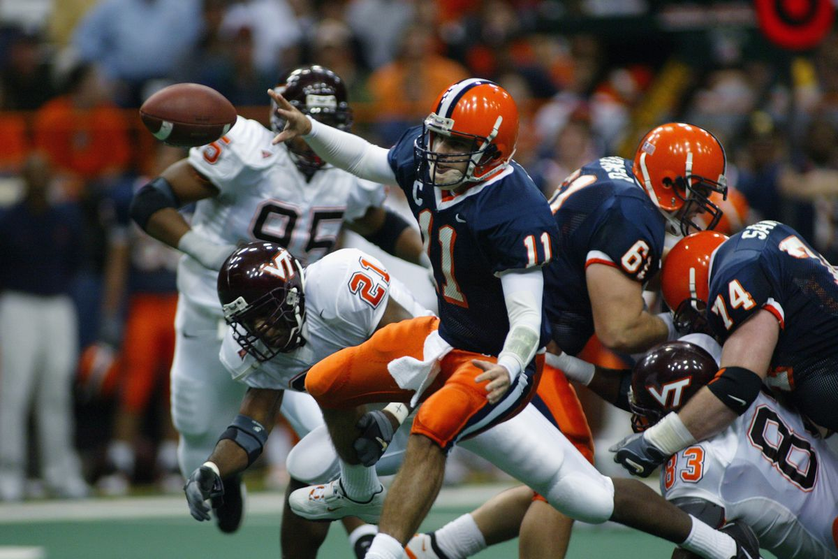 Virginia Tech Syracuse S Once And Never Again Rival Troy Nunes Is