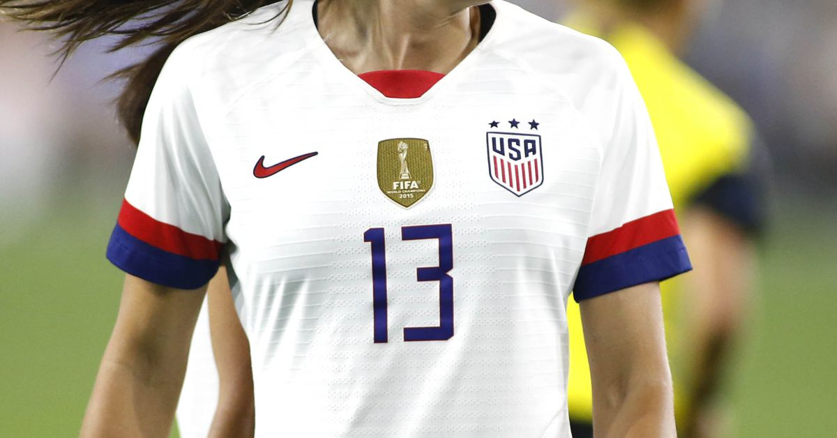 free shipping 8ac86 10f8f Show me the merch: what's going on with the USWNT's World ...