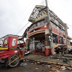 Damage in Tacloban, Friday, Nov. 22, 2013.