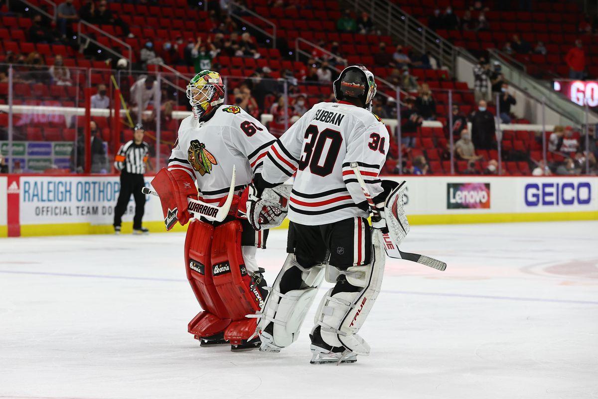 NHL: MAY 03 Blackhawks at Hurricanes