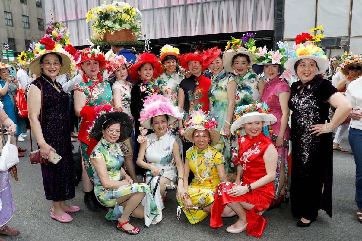 2017 Easter Parade and Bonnet Festival in New York City.