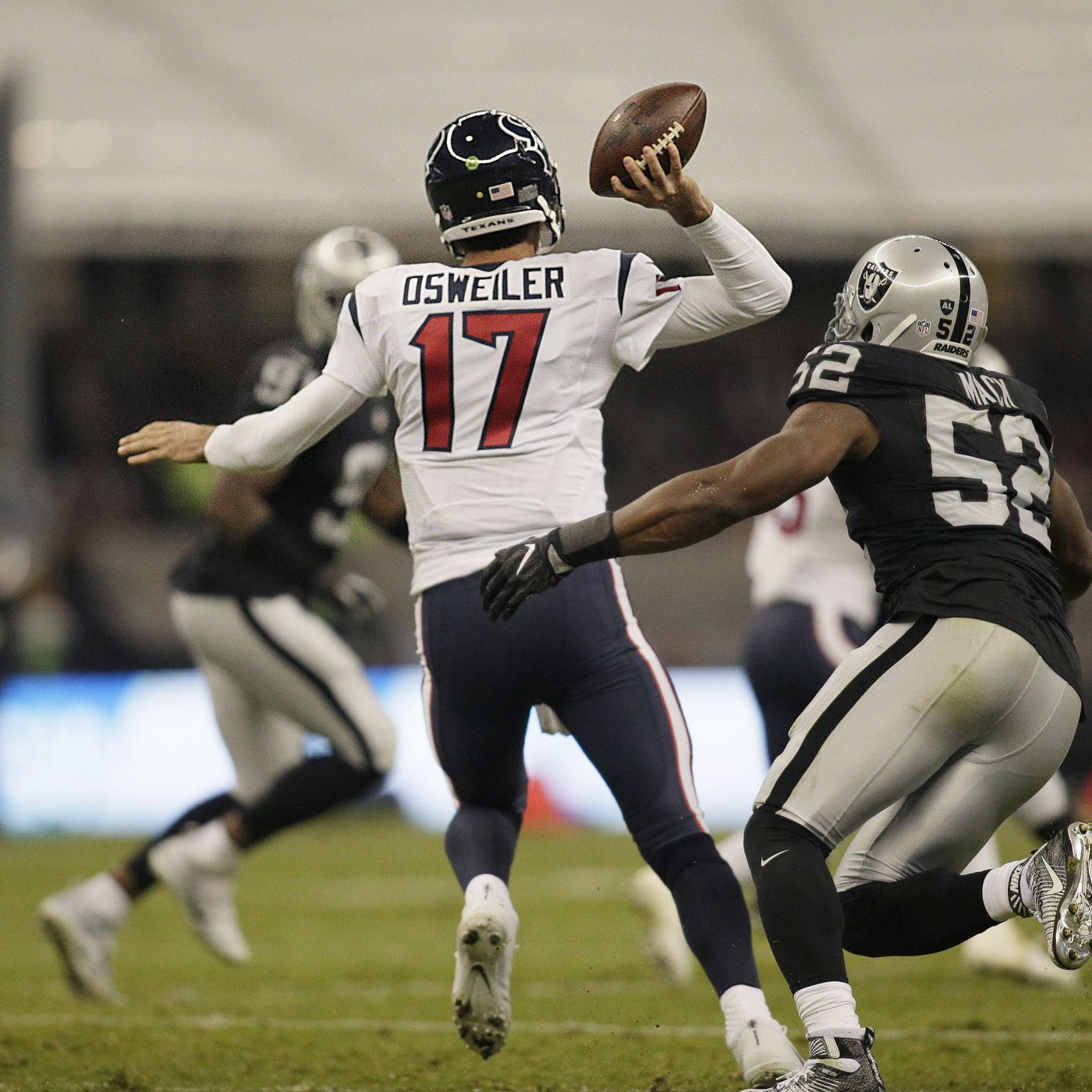 Texans Raiders 2016 Wild Card Playoffs Schedule Game Time Tv