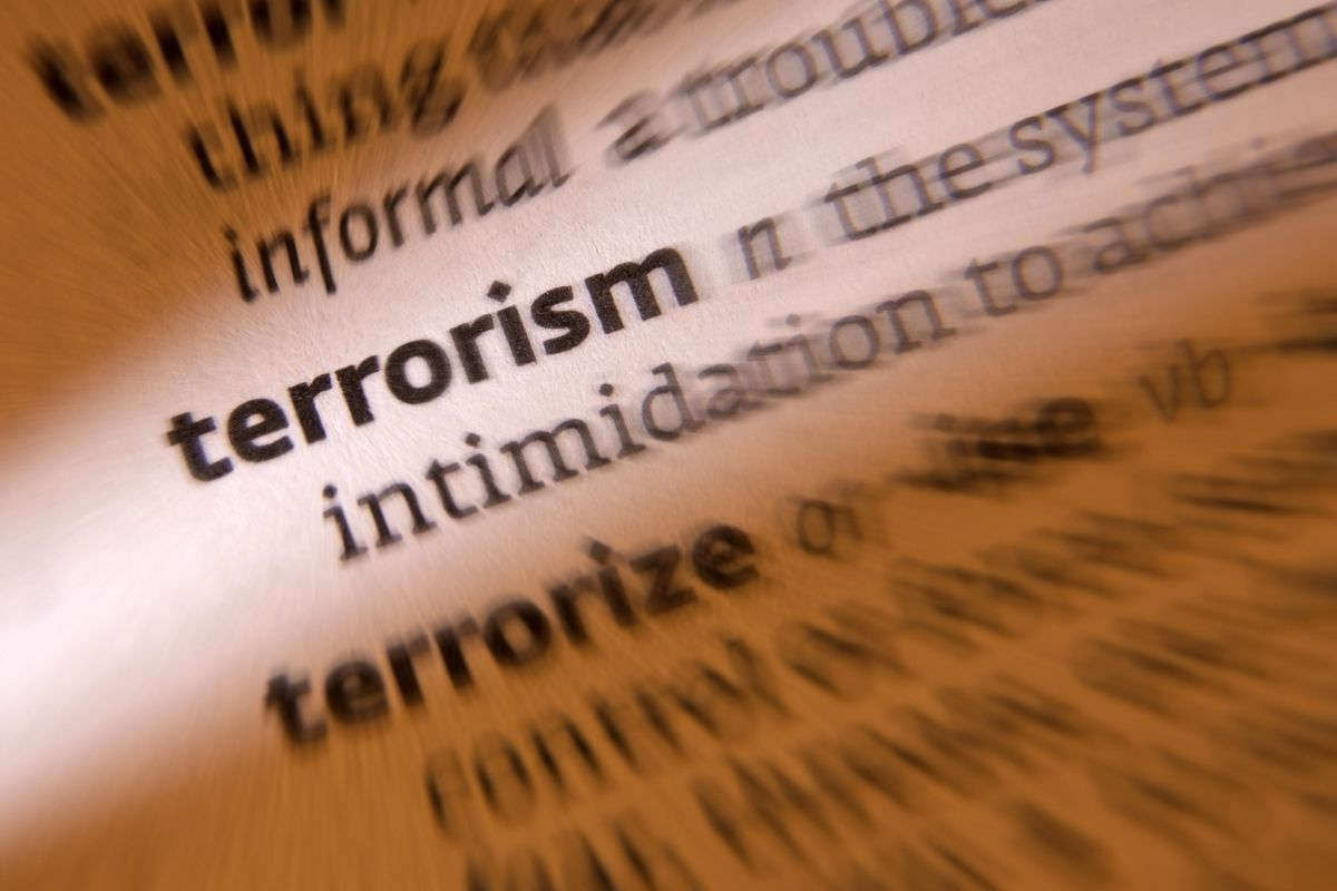 article on terrorism in 150 words