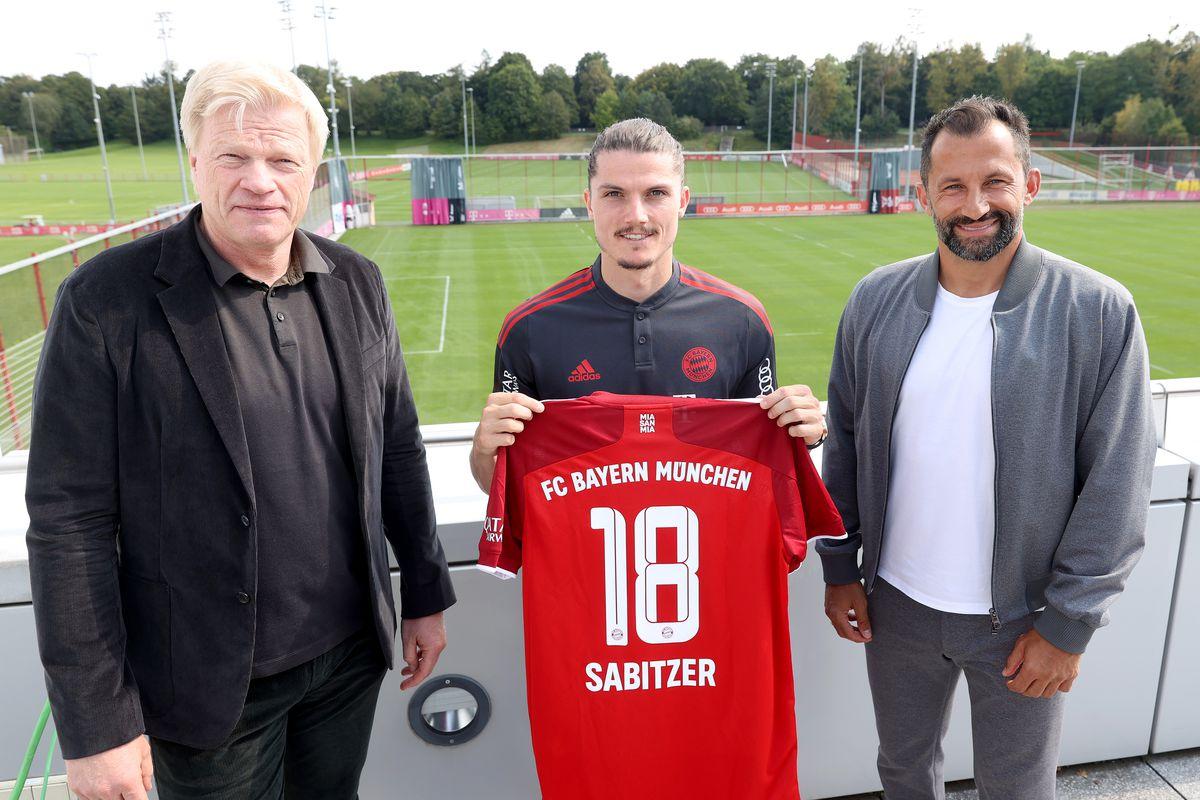 FC Bayern Muenchen Unveils New Signing Marcel Sabitzer