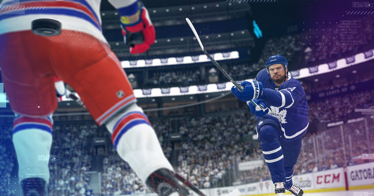 NHL 20 cover goes to Auston Matthews, see the first trailer