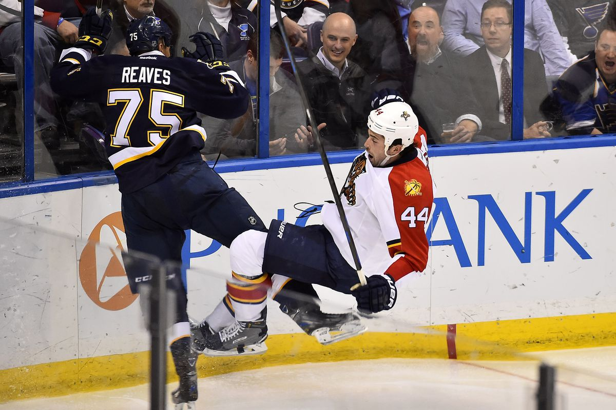 """""""That's NOT how you do a Cossack dance, son."""" -- Ryan Reaves"""