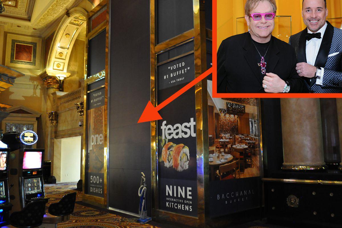 Fizz Lounge and Elton John and David Furnish