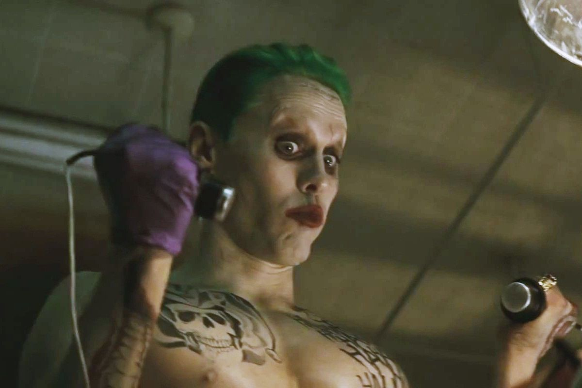 jared leto as the joker in suicide squad warner bros pictures
