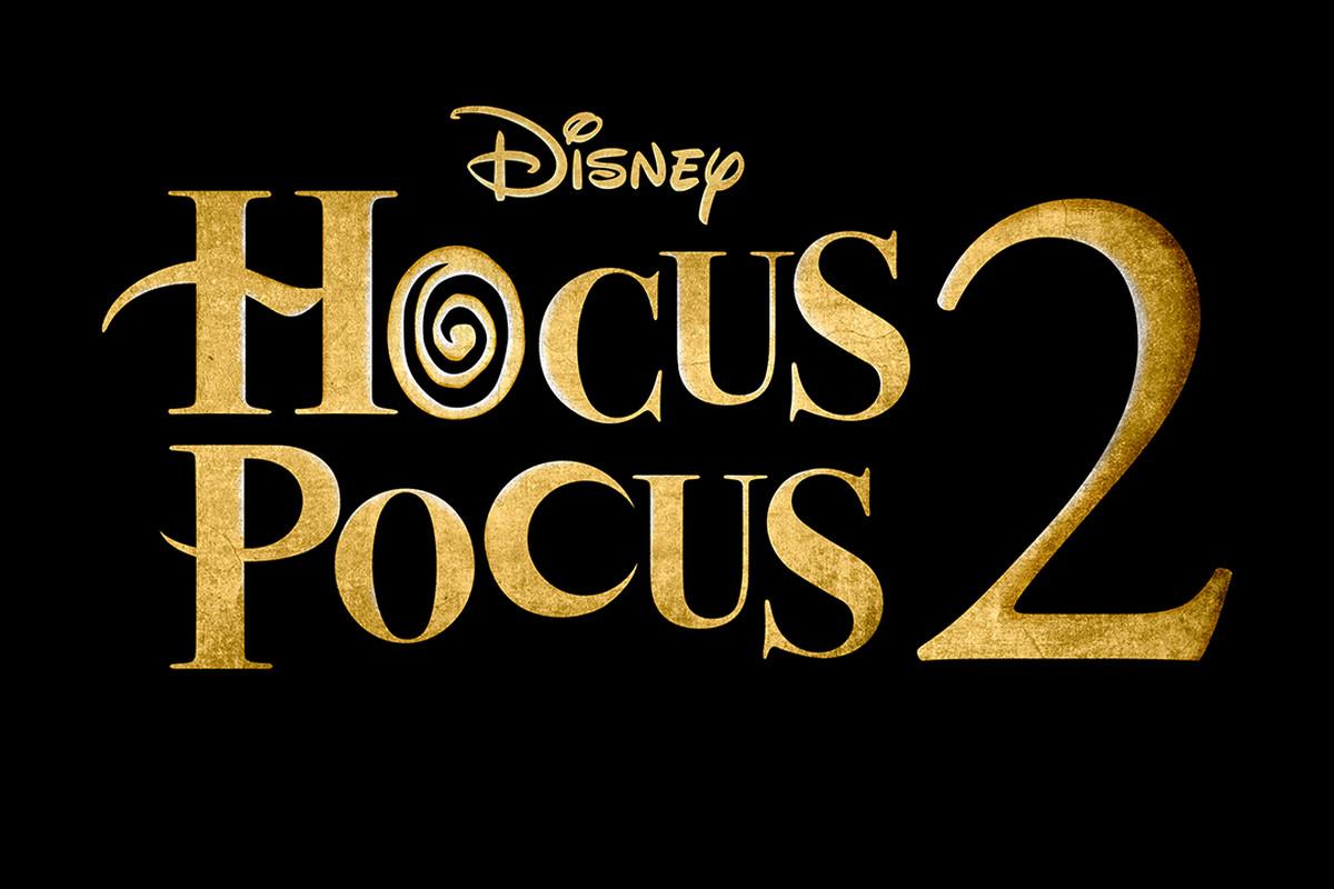 """The logo for """"Hocus Pocus 2."""""""