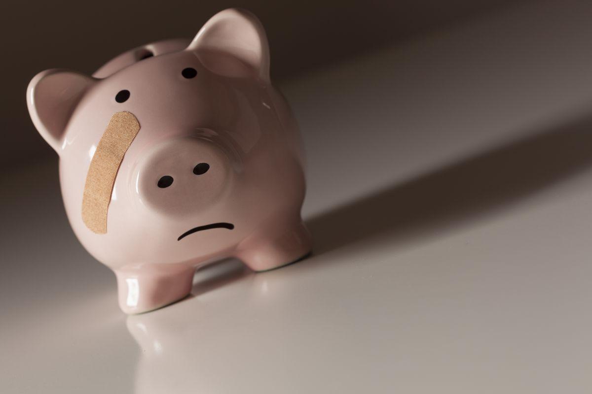 piggy bank band aid