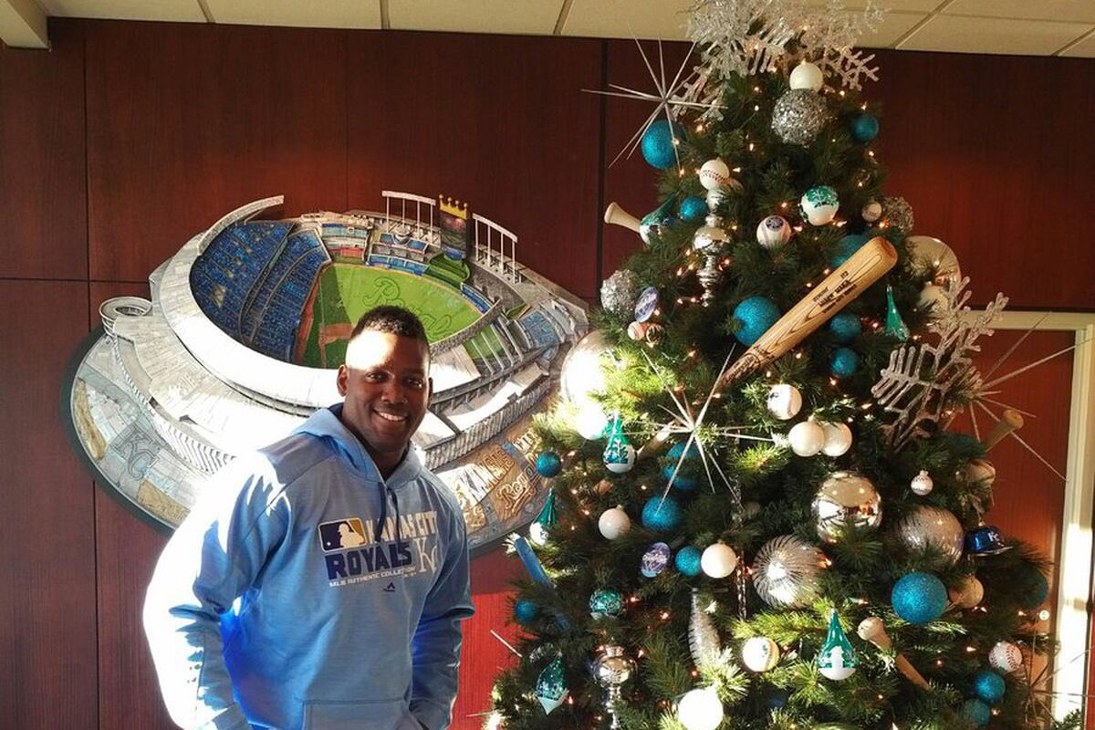 the royals introduced the newest member of their club jorge soler at a press conference tuesday afternoon in kansas city the 24 year old was acquired - Royals Christmas Ornament
