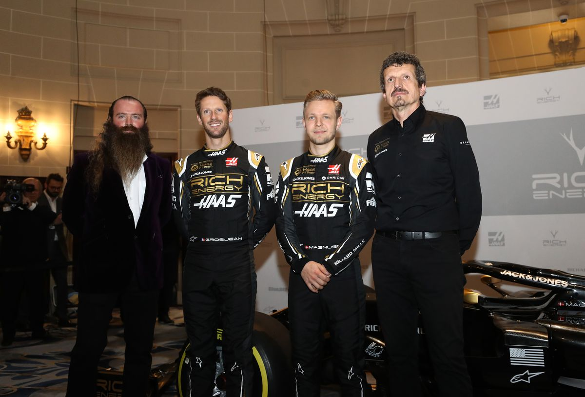 Rich Energy Haas F1 Team Livery Unveil
