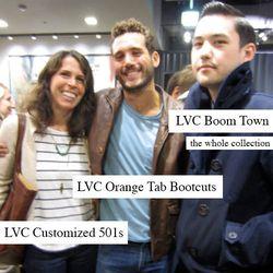 L to R: Melissa DiRienzo, Levi's VP of Merchandising; Ben Starmer, Levi's Marketing; Spencer Lemon, Brand Director at Unionmade