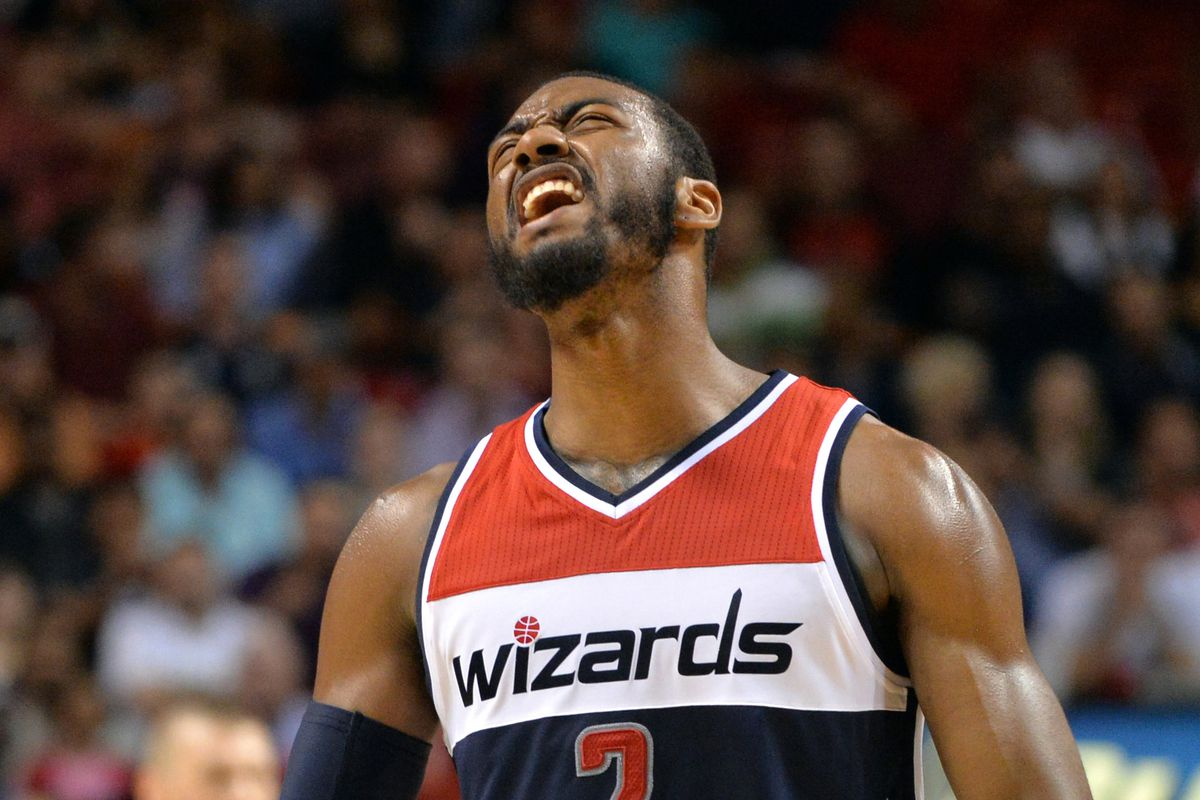 John Wall is beasting and feasting in the east this season.