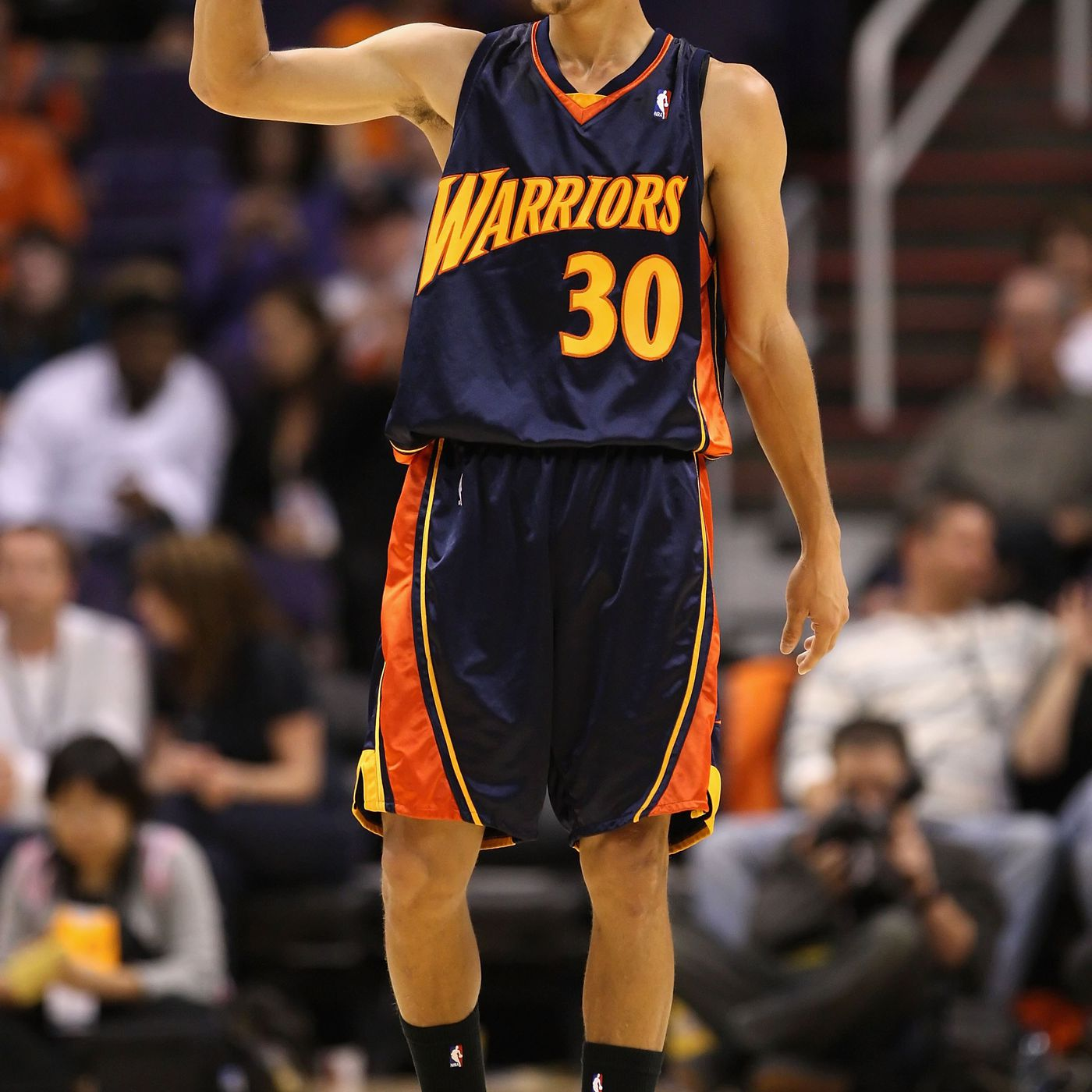afc6143a2 Steph Curry and the Warriors pick their favorite throwback jerseys - Golden  State Of Mind