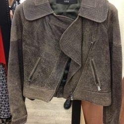 Cut25 Leather Jacket, $100