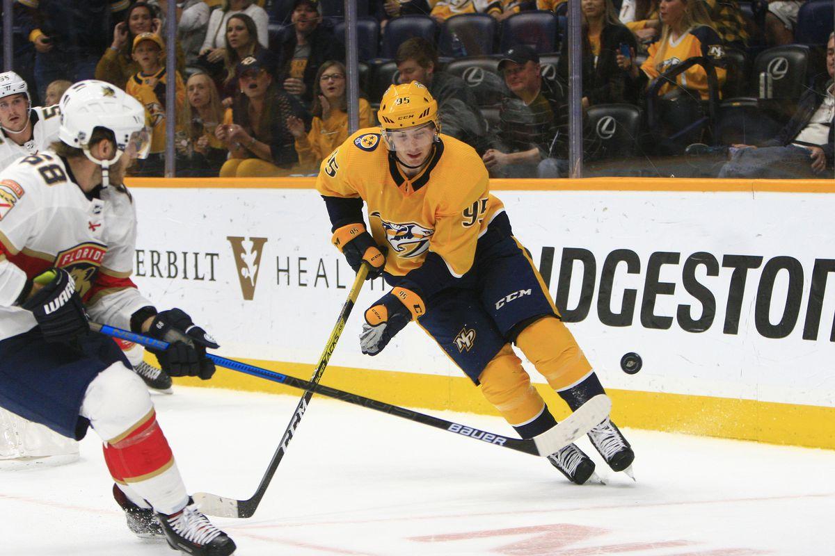 NHL: OCT 19 Panthers at Predators