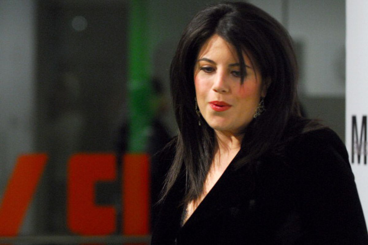 Monica Lewinsky during Opening Night Party for Nigel Parry's 'Blunt Exhibition' Hosted by Men's Health - December 5, 2006 at MILK Studios in New York City, New York, United States
