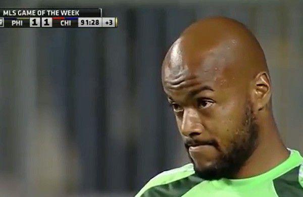 Rais Mbolhi facially sums up the Union's season thus far