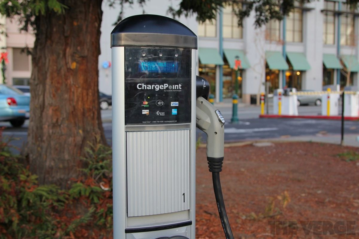 Chargepoint EV charging station stock 1024 3