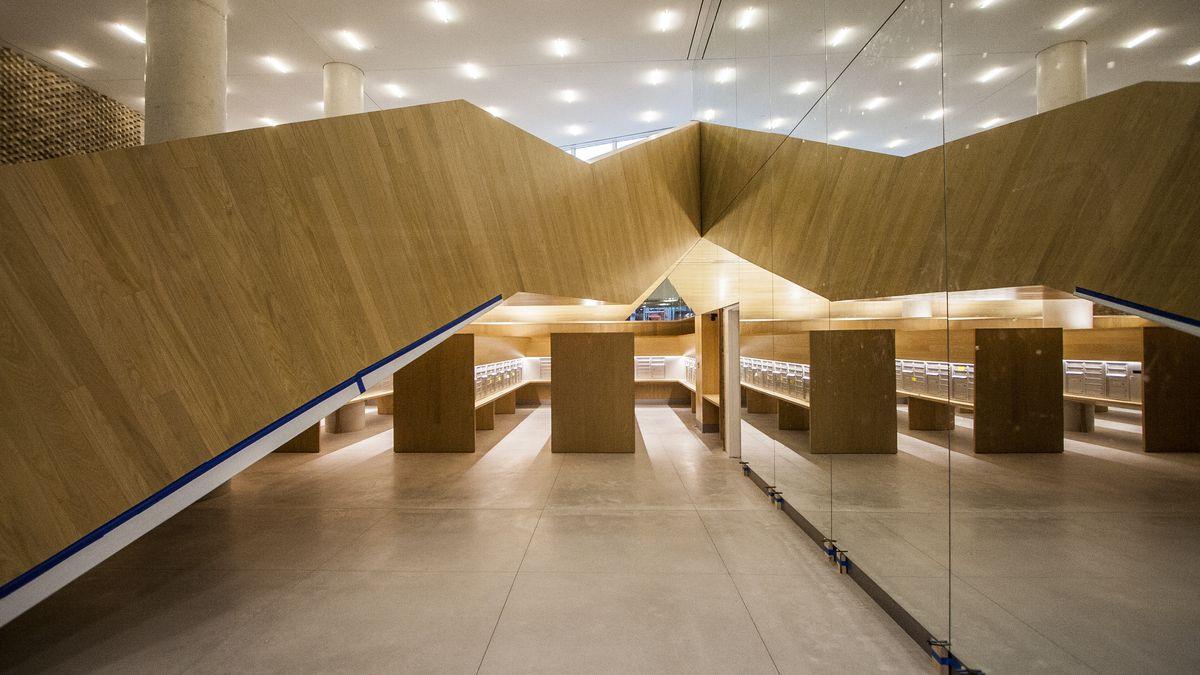 The lobby of Via.