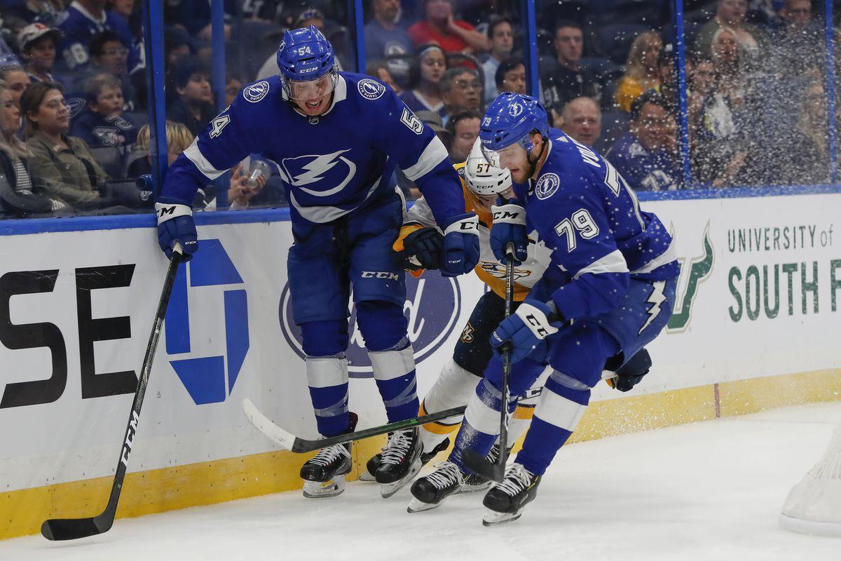 NHL: SEP 20 Preseason - Predators at Lightning