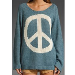 """<a href=""""http://www.revolveclothing.com/DisplayProduct.jsp?product=WILD-WK6&c=Wildfox+Couture&referrerURL=/brandpages/WildfoxCouture.jsp&"""" rel=""""nofollow"""">Wildfox - Imagine Penny Lane Sweater</a> ($183)."""