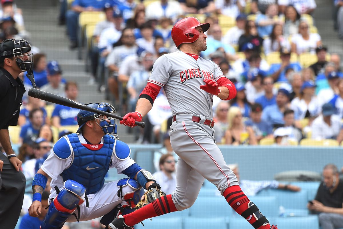 Joey Votto Chasing Idol Ted Williams On Base History Red Reporter