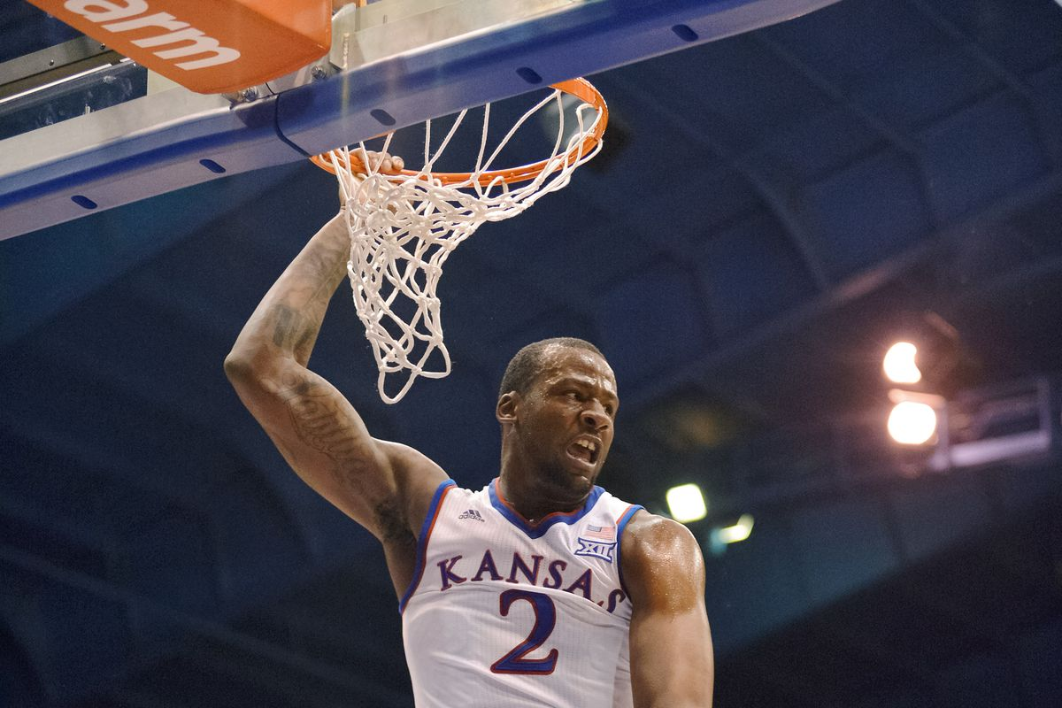 Cliff Alexander finishes a dunk against UNLV.