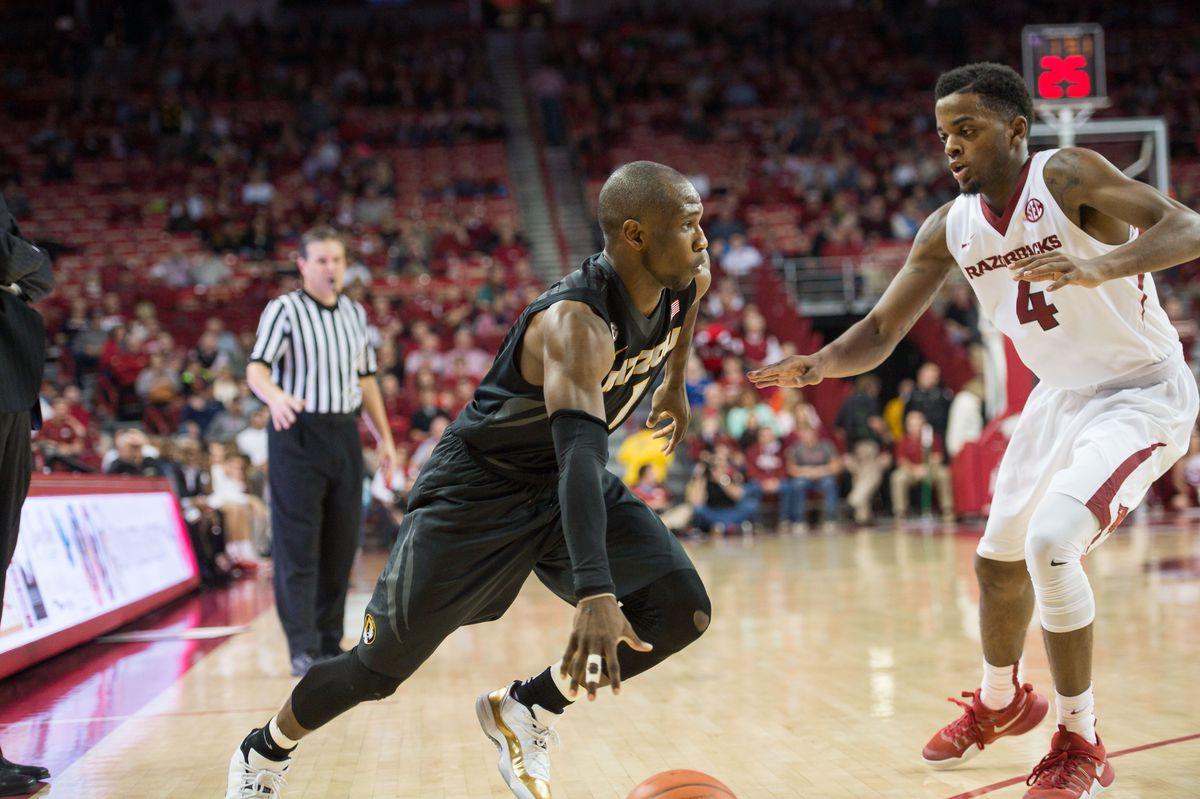 NCAA Basketball: Missouri at Arkansas