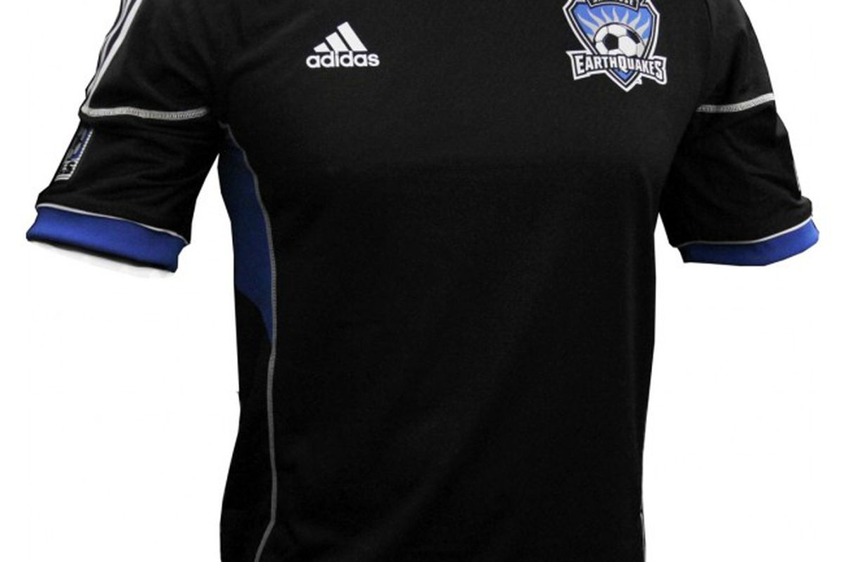 """The 2012 San Jose Earthquakes jersey -- cleaner than ever -- is <a href=""""http://earthquakes.yorder.it/men-s/jerseys.html"""" target=""""new"""">available for purchase at the club's official online store</a>."""