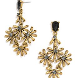 """Goldenrod drop earrings, <a href=""""http://www.baublebar.com/goldenrod-drops-earrings.html"""">$34</a>"""