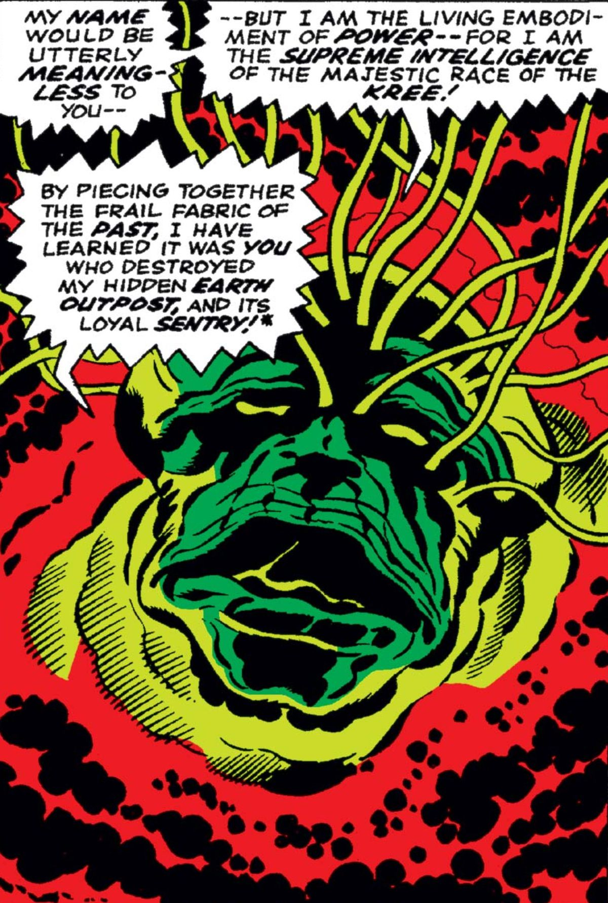 The Kree Supreme Intelligence, Fantastic Four #65, Marvel Comics (1967).