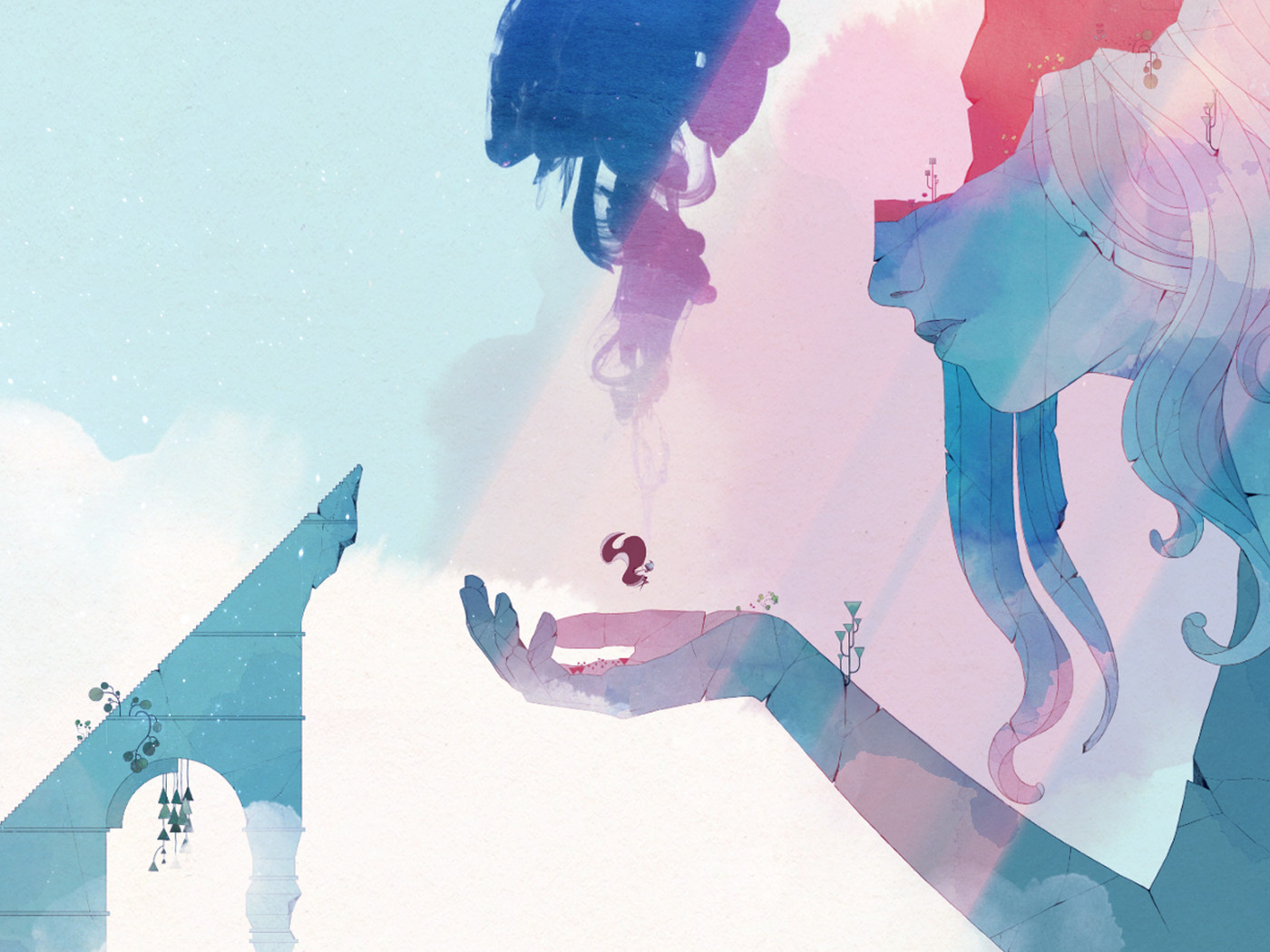 Image result for A,watercolor,fantasy,could,be,2018's,most,gorgeous,game
