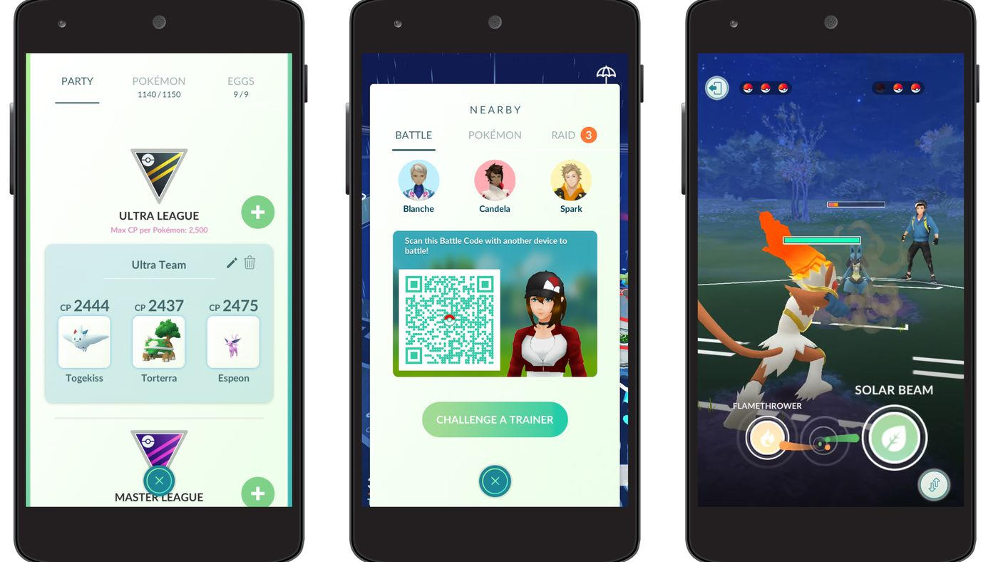 Pokémon Go trainer battles are coming later this month