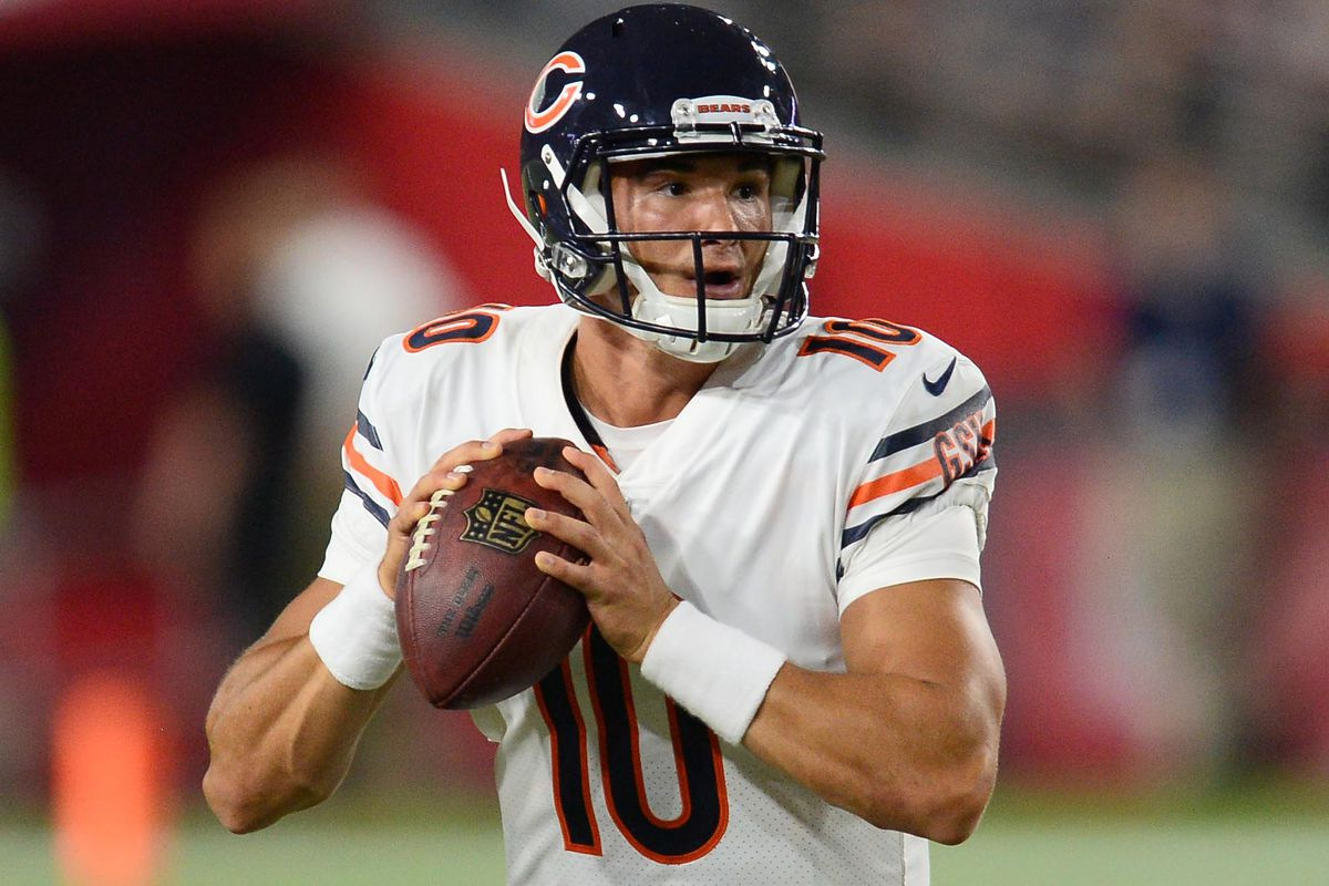 Mitch Trubisky had yet another solid outing in his second preseason game.  Joe Camporeale-USA TODAY Sports da29c3239