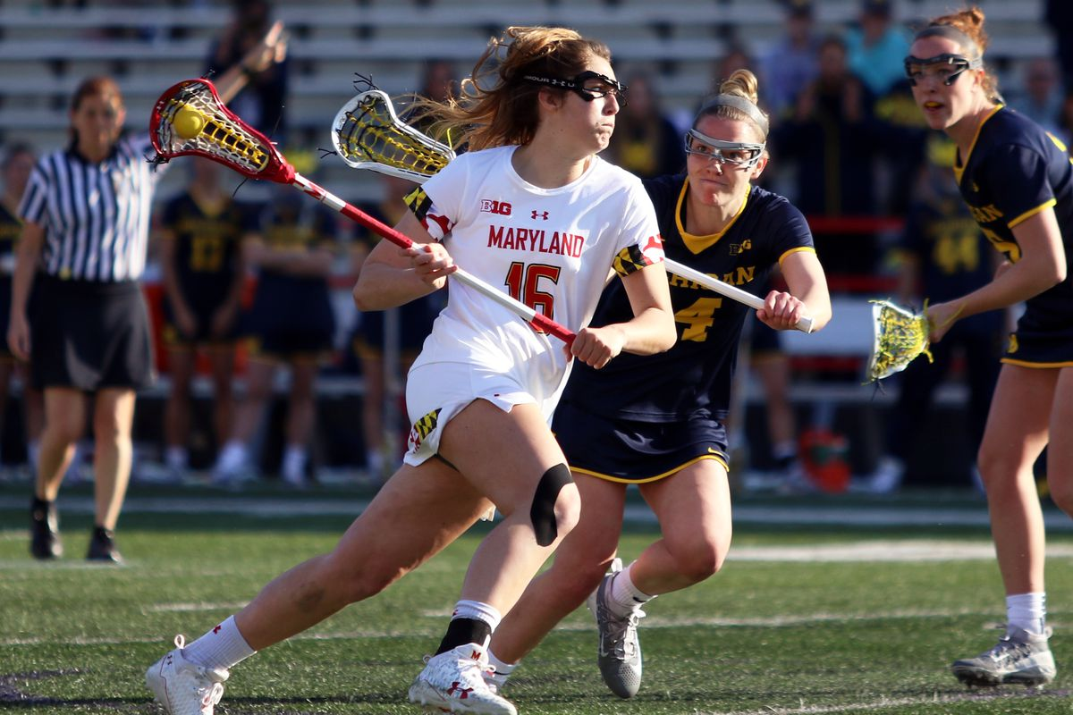 Maryland women's lacrosse Kali Hartshorn vs. Michigan