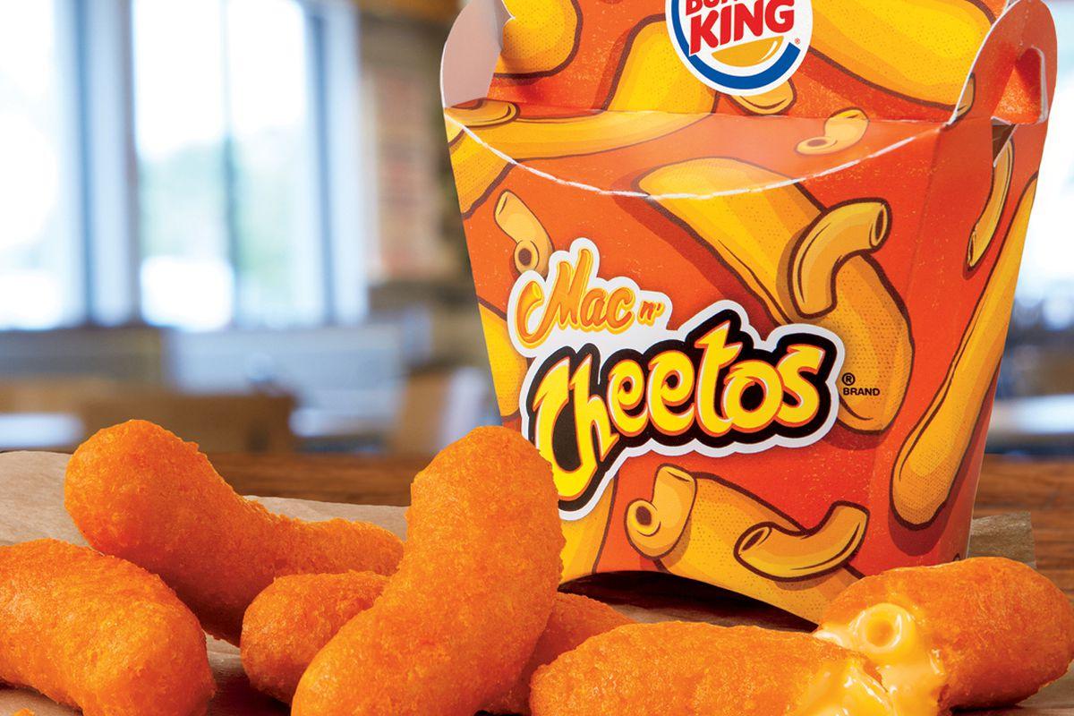 Burger Kings Mac N Cheetos Make A Comeback