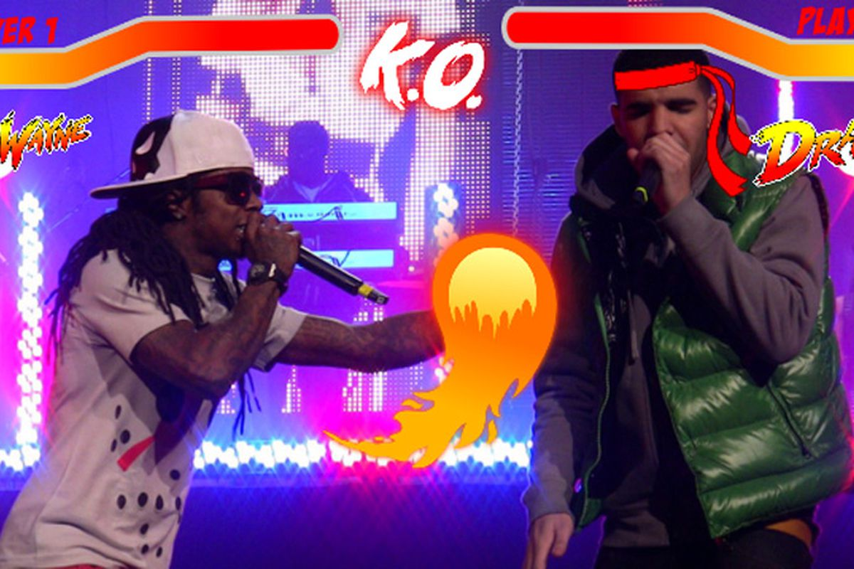 Hip hop artists drake and lil wayne kicked off a two month tour in new york on friday a tour titled drake vs lil wayne that will see the two rappers